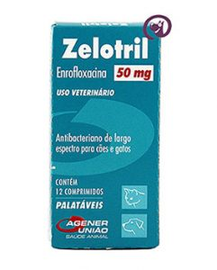 Imagem Zelotril 50mg 12 comprimidos