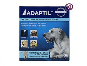 Imagem Adaptil Comportamental Cães Difusor e Refil 48ml