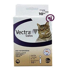 Imagem Vectra Antipulgas Gatos até 10kg