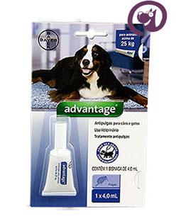 Imagem Advantage Antipulgas e Carrapatos Cães acima 25kg