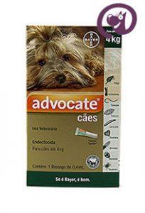 Imagem Advocate Cães até 4kg 0,4ml