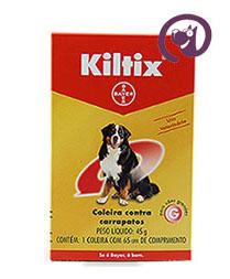 Imagem Coleira Kiltix G 45g Anti-carrapatos cães