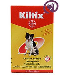 Imagem Coleira Kiltix M 30,2g Anti-carrapatos cães