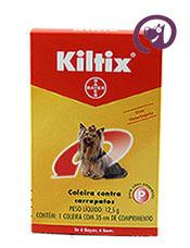 Imagem Coleira Kiltix Peq 12g Anti-carrapatos cães