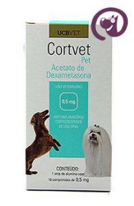 Imagem CortVet Pet 0,5mg 10 comp. Anti-inflamatório Cães