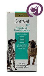 Imagem CortVet Pet 1mg 10 comp. Anti-inflamatório Cães