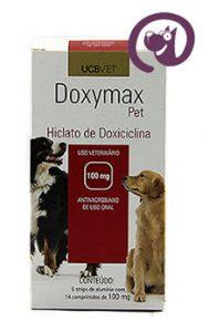 Imagem Doxymax Pet 100mg 70 comp. Antibiótico Cães