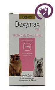 Imagem Doxymax Pet 25mg 14 comp. Antibiótico Cães
