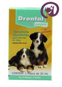 Imagem Drontal Puppy Suspensão 20ml vermífugo oral cães