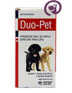 Imagem Duo Pet 20ml Hertape Vermífugo Oral Cães e Gatos