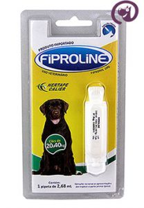 Imagem Fiproline Cães 20 a 40kg 2,68ml Antipulgas Carrapatos