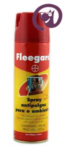 Imagem Fleegard Spray Anti-pulgas Ambiente 300ml