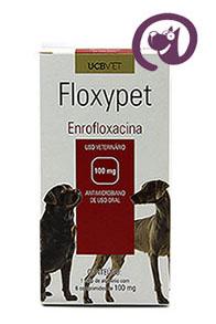 Imagem Floxypet 100mg 6 comp. Antibiótico Cães