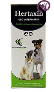 Imagem Hertaxin 10 comp. Antibiótico Cães