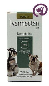 Imagem Ivermectan Pet 6mg 30 comp. Sarna Cães