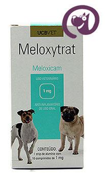 Imagem Meloxytrat 1mg 10 comp. Anti-inflamatório Cães