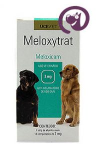 Imagem Meloxytrat 2mg 10 comp. Anti-inflamatório Cães