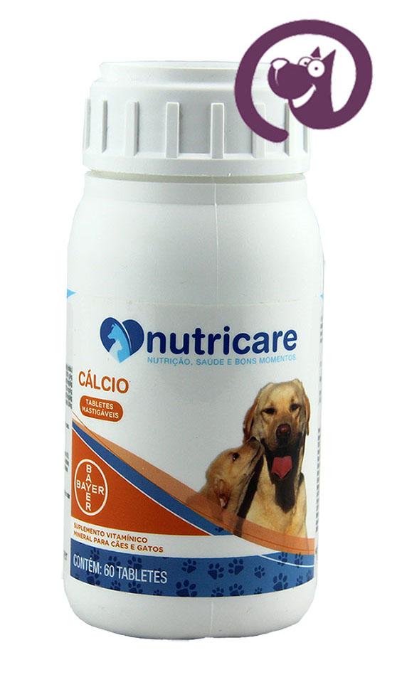 Imagem Nutricare Cálcio Cães 60 tabs
