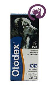 Imagem Otodex Cães e Gatos 15ml Tratamento Otites