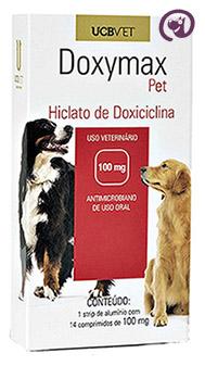 Imagem Doxymax Pet 100mg 14 comp