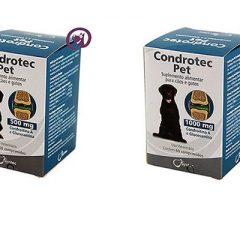 Condrotec – suplemento para articulação de cães e gatos