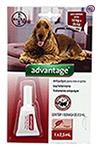 Imagem Advantage Antipulgas e Carrapatos Cães 10 a 25kg