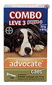 Imagem COMBO Advocate Cães 25 a 40kg 4ml