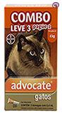 Imagem COMBO Advocate Gatos até 4kg 0,4ml