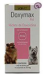 Imagem Doxymax Pet 25mg 14 comp Antibiótico Cães