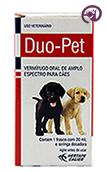 Imagem Duo Pet 20ml Vermífugo Oral Cães e Gatos