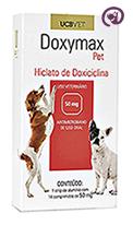 Imagem Doxymax Pet 50mg 14 comp Antibiótico Cães
