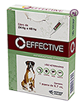 Imagem Effective Cães 24 a 40kg 6,7ml Antipulgas e Carrapatos
