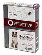 Imagem Effective Cães 4 a 9kg 1,5ml Antipulgas Carrapatos