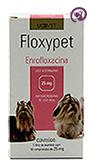 Imagem Floxypet 25mg 10 comp Antibiótico Cães