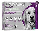 Imagem Frontline Tri-Act 20 a 40kg 4ml 3 pipetas