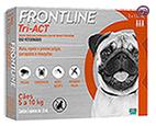Imagem Frontline Tri-Act 5 a 10kg 1ml 3 pipetas