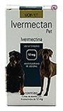 Imagem Ivermectan Pet 12mg 18 comp Sarna Cães