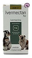 Imagem Ivermectan Pet 6mg 30 comp Sarna Cães