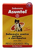 Imagem Sabonete Asuntol Cães 80g (contra pulgas e carrapatos)