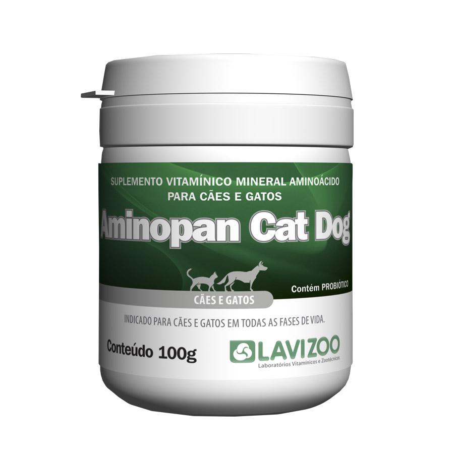 Imagem Aminopan Cat & Dog 100gr