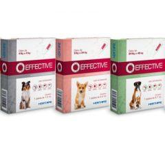 Effective – controle de pulgas, carrapatos e flebotomíneos