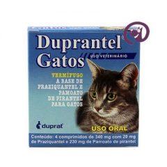 Duprantel Gatos – O vermífugo ideal para seu gato!